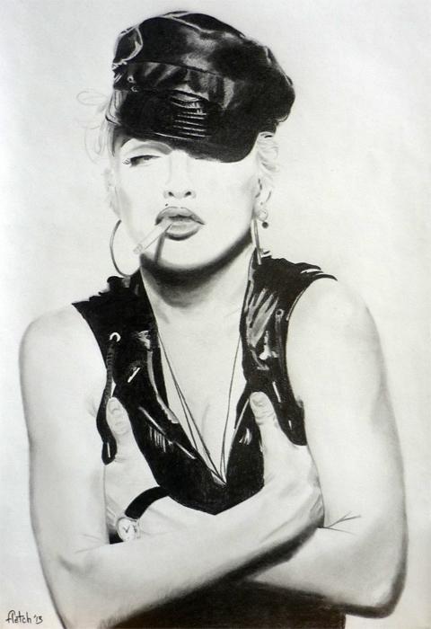 Madonna by Fletch